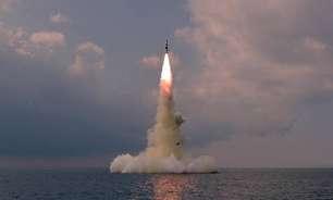 Coreia do Norte confirma teste de míssil submarino