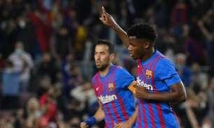 Barcelona e Ansu Fati entram em acordo por renovação até 2027