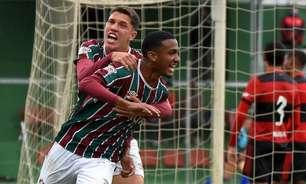 Fluminense vence Flamengo, assume a liderança e fica próximo de título da Taça Guanabara Sub-17