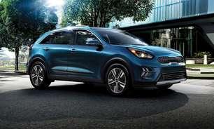 Kia muda logotipo e anuncia primeiro SUV híbrido no Brasil