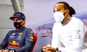 """Novo Senna x Prost? Verstappen diz que rivalidade com Hamilton """"não é comparável"""""""
