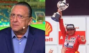 Há 30 anos, Galvão omitiu informação de Senna e levou bronca