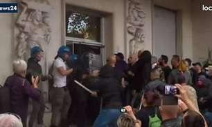 Senado italiano aprova moção que pede dissolução de partido neofascista