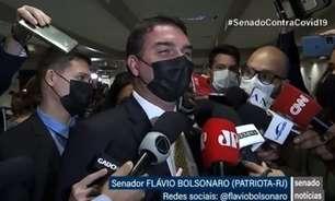Flávio diz que Bolsonaro irá gargalhar de relatório da CPI