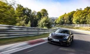 Porsche 718 GT4 RS se destaca em teste final de Nürburgring