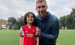 Menino de 5 anos chama a atenção e assina com clube inglês