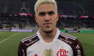 'Vim no sacrifício, o Flamengo pede isso', destaca Pedro após garantir empate pela Copa do Brasil