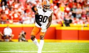 Cleveland Browns ativa Jarvis Landry para duelo contra o Denver Broncos