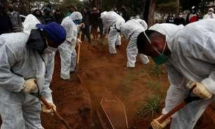 Brasil registra 451 novas mortes por Covid e total vai a 604.679