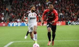 Em bom jogo, Flamengo empata com o Athletico no minuto final