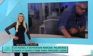Jornalista de Minas fica na bronca ao ser zoado, 'abandona' o Jogo Aberto e recebe apoio da torcida do Atlético-MG
