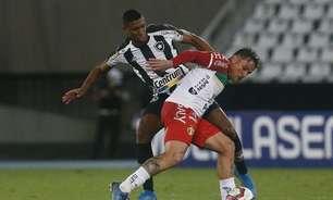Botafogo: Carli e Kanu fazem artilheiro da Série B passar em branco e seguem com série positiva