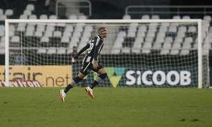 Rafael Navarro, do Botafogo, chega a 20 participações de gols na Série B e encosta na artilharia