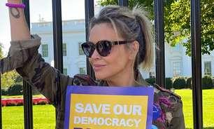 Atriz de 'Charmed' é presa em protesto político nos EUA