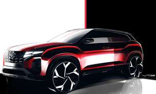 Hyundai revela Creta com visual de Tucson em teaser oficial