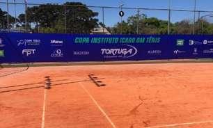 Qualifying abre neste sábado a Copa Instituto Icaro DM Tênis em Curitiba (PR)