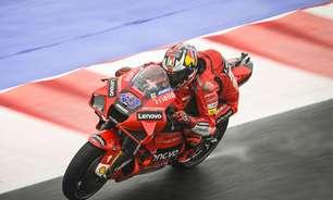 Miller domina treino 2 e puxa 1-2 da Ducati em Misano. Quartararo fica em 16º no molhado