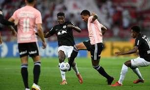 Empate contra o Bragantino interrompeu sequência de vitórias em casa do Inter