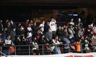Torcida do São Paulo esgota ingressos contra o Red Bull Bragantino