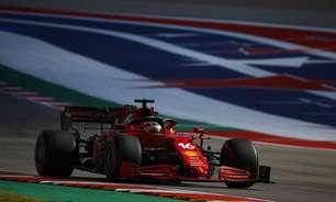 Leclerc e Sainz reclamam de desgaste dos pneus após sexta-feira em Austin