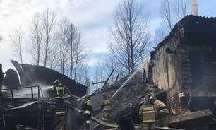 Grande explosão mata 16 em usina química da Rússia