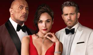 """Dwayne Johnson e Ryan Reynolds enfrentam Gal Gadot no trailer de """"Alerta Vermelho"""""""
