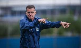 Mancini começa a esboçar o Grêmio para encarar o Atlético-GO