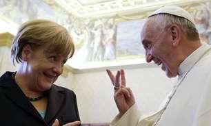 Papa elogia Merkel: 'Uma das grandes líderes da história'