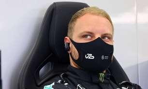 Mercedes troca peça do motor, e Bottas perde 5 posições no grid nos EUA. Russell sai em 20º