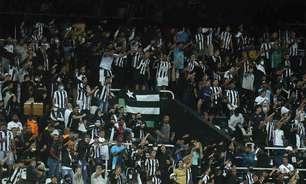 Botafogo aciona Departamento Jurídico por torcedor que urinou em copo e jogou na direção da torcida