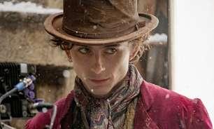 Revelada imagem de Willy Wonka quando jovem