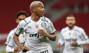 Deyverson compara oscilação do Palmeiras com turbulência no avião e afirma: 'Vai ficar de boa'