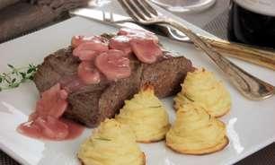 Filé-mignon com batata duchesse: delicioso e especial