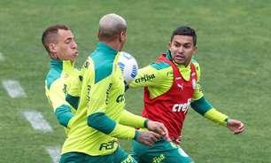 Danilo treina sem restrições e Palmeiras segue se preparando para enfrentar o Sport