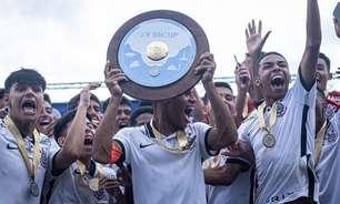 Corinthians vence nos pênaltis e conquista torneio sub-15 em BH