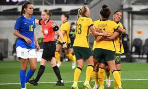 Seleção feminina do Brasil perde para Austrália em amistoso