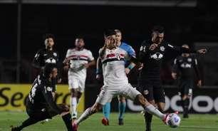 Red Bull Bragantino x São Paulo: prováveis escalações, desfalques e onde assistir o jogo do Brasileirão
