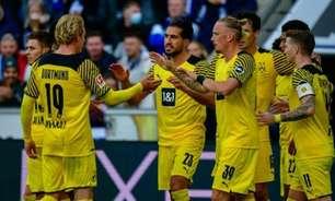 Dortmund vence o Arminia e segue na cola do Bayern de Munique