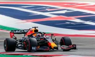 Verstappen desbanca Hamilton com temporal e crava pole do GP dos EUA de F1