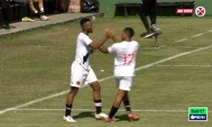 Vasco goleia Macaé na 11ª rodada da Taça Guanabara Sub-17 e encara o Botafogo nas quartas de finais