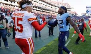 Titans x Chiefs: Tennessee quer manter embalo contra um Kansas City buscando o ponto; onde ver e aposta