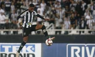 Diego Gonçalves, do Botafogo, ainda não encontrou seu ritmo desde que voltou de lesão