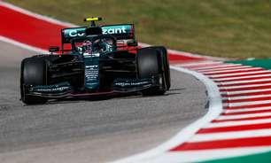 Vettel aprova Aston Martin e diz que calor de Austin deixa tudo aberto no domingo