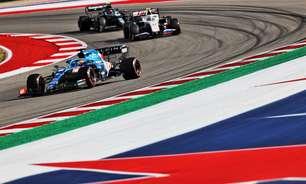 """Alonso aposta em estratégia e vê pontos """"ainda possíveis"""" mesmo com punição em Austin"""