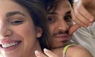 Raphael Veiga, do Palmeiras, anuncia noivado com irmã de Luan Santana