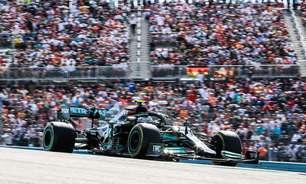 """Bottas elogia Mercedes, mas diz que GP dos EUA foi """"mais ou menos o esperado"""" no calor"""