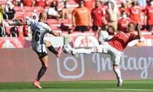 Com golaço no fim, Internacional empata com o Corinthians