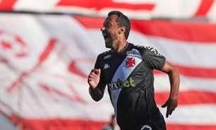 Internautas se emocionam com atuação de Nenê em empate do Vasco com Náutico
