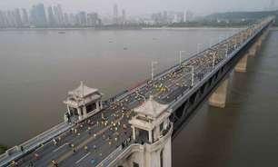 Maratona de Wuhan é adiada por causa da Covid-19
