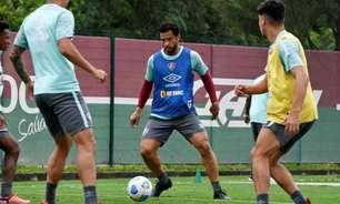 Retorno de Fred após duas semanas afastado marca treino do Fluminense; Bobadilla também se reapresenta